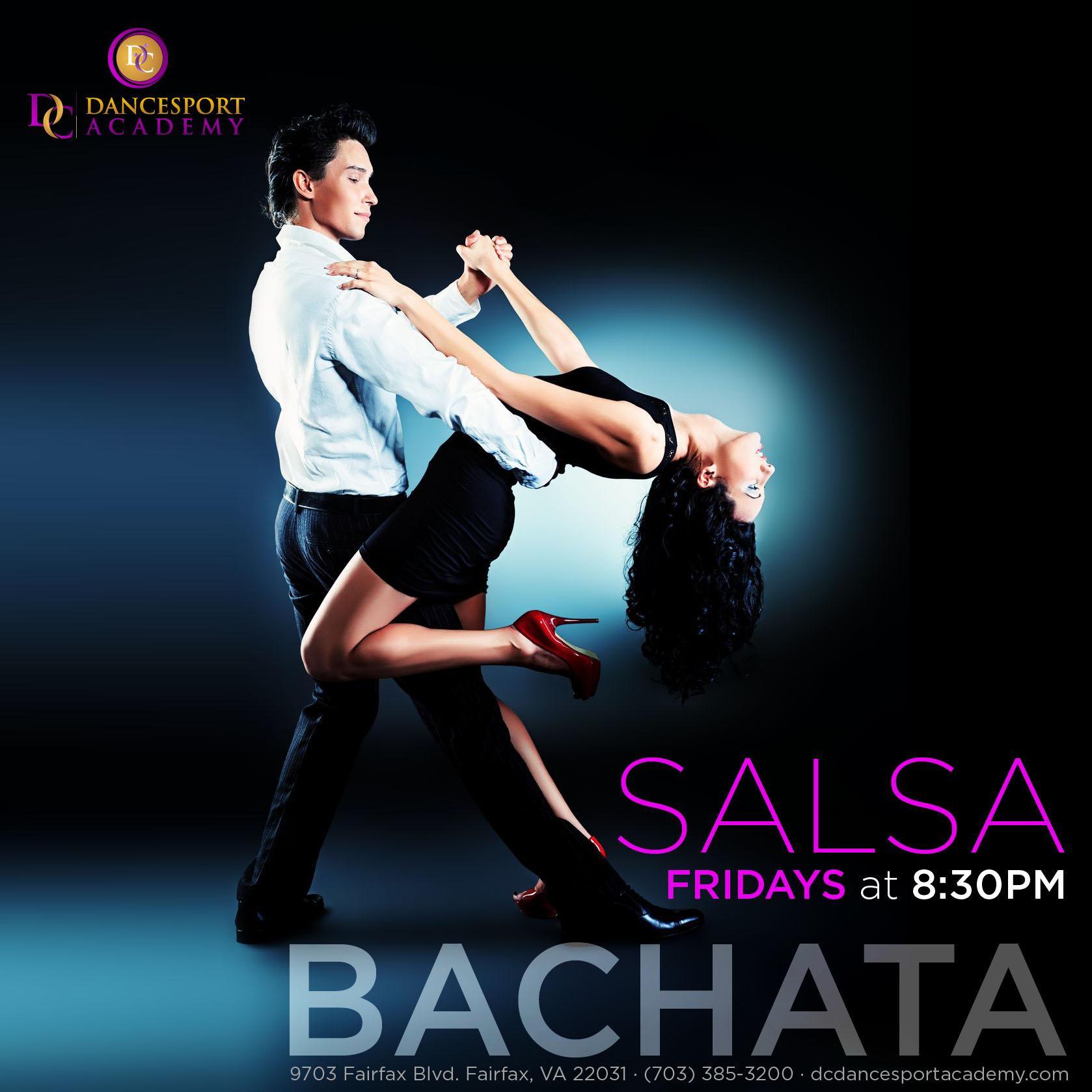 Salsa Bachata Latin Class Dc Dancesport Academy