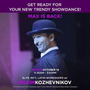 Elite Int'l Latin Workshops w/ Maxim Kozhevnikov