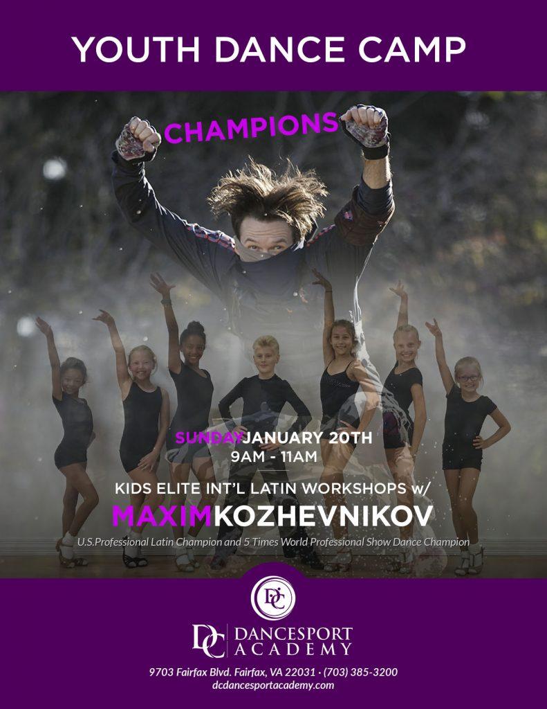 Youth Dance Camp with Maxim Kozhevnikov