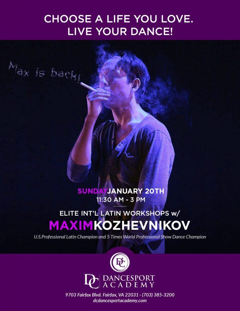 Elite Workshops with Maxim Kozhevnikov