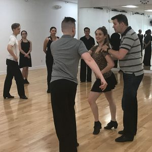 Elite Int'l Latin Workshops with Colin James at DC DanceSport Academy