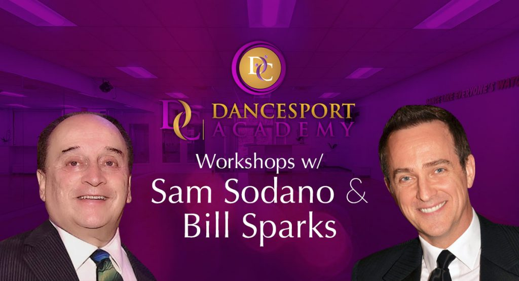 Workshops w/ Sam Sodano and Bill Sparks at DC DanceSport Academy