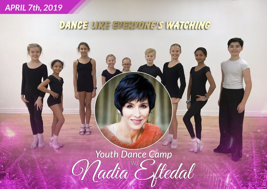 Kids Dance Camp with Nadia Eftedal at DC DanceSport Academy
