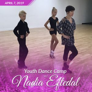 Youth Dance Camp with Nadia Eftedal at DC DanceSport Academy