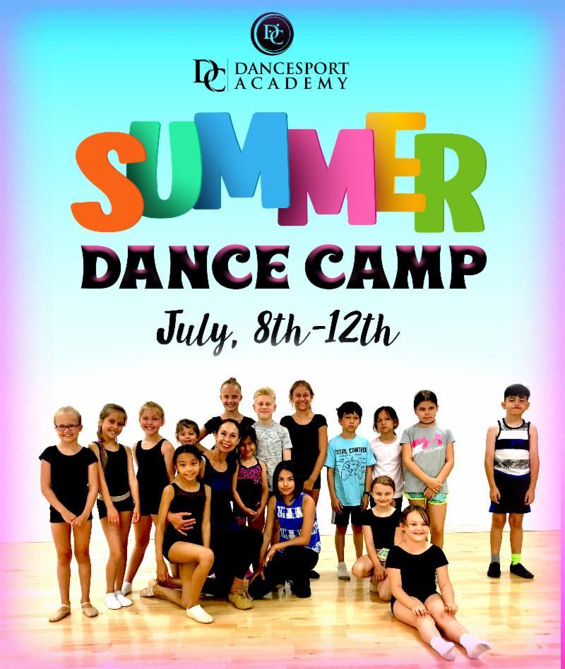 DC DanceSport Academy Kids Summer Dance Camp 2019