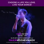 Elite Int'l Latin Workshops w/ Maxim Kozhevnikov on Sunday, May 19, 2019