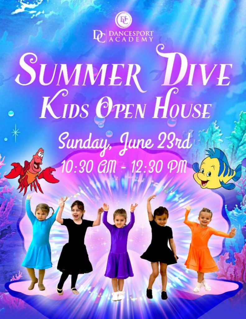 Kids Summer Open House DC DanceSport Academy