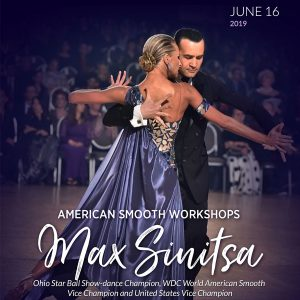 American Smooth Elite Workshops with WDC World American Smooth Vice Champion Max Sinitsa