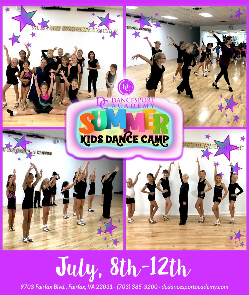 Kids Summer Dance Camps in Fairfax VA