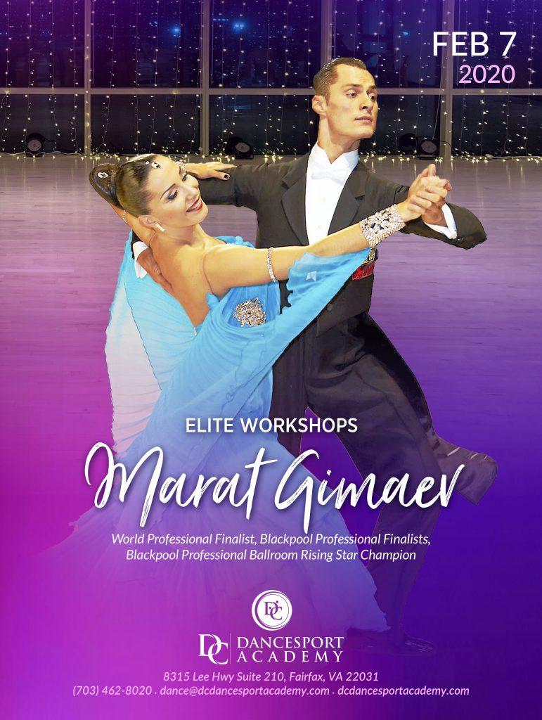 Smooth & Standard Elite Workshops with Marat Gimaev