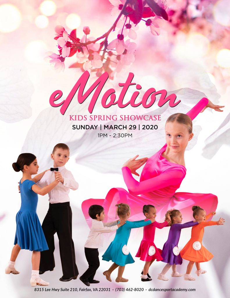 DC DanceSport Academy Kids Spring Showcase