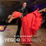 Elite Workshop w/ Yegor Novikov at DC DanceSport Academy