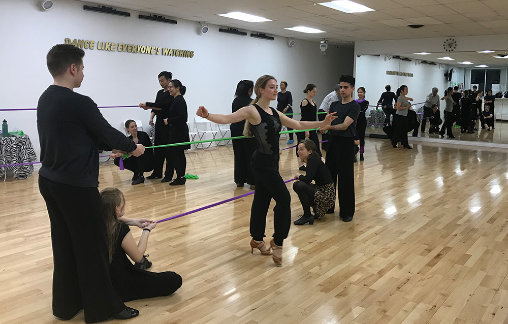 In-person Dance Camps at DC DanceSport Academy
