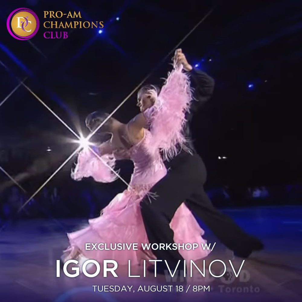 "Exclusive Workshop ""Mastery Exercises for Viennese Waltz"" with Igor Litvinov"