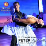 Elite Workshop with Peter Perzhu at DC DanceSport Academy