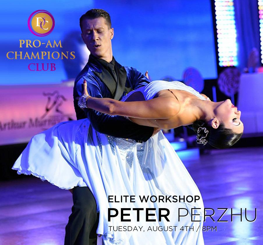 Elite Workshop with Peter Perzhu at DC DanceSport Academy