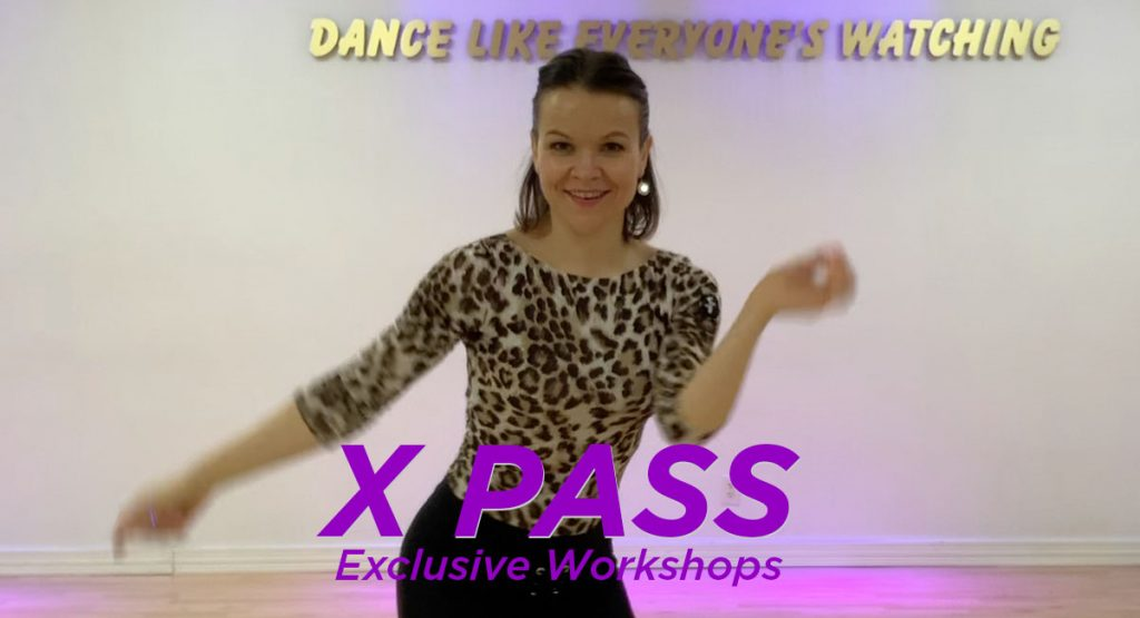 X PASS Exclusive Workshops with Lydia at DC DanceSport Academy
