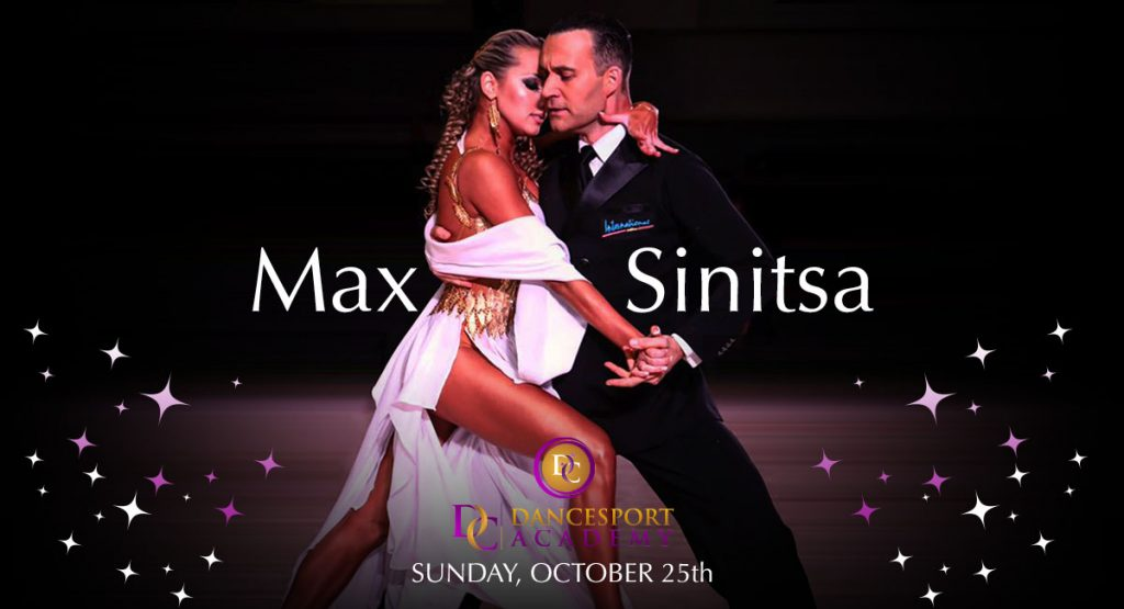 Smooth Workshops with Max Sinitsa at DC DanceSport Academy