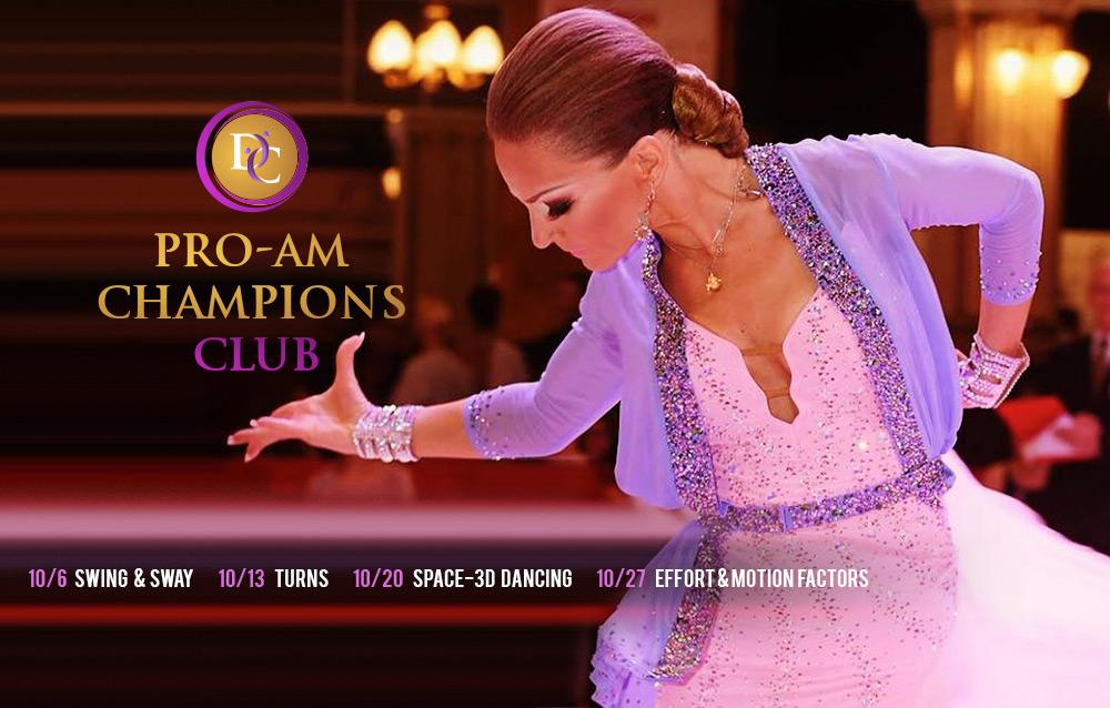 Elite Workshops with Viktorija (Pro-Am Champions Club)