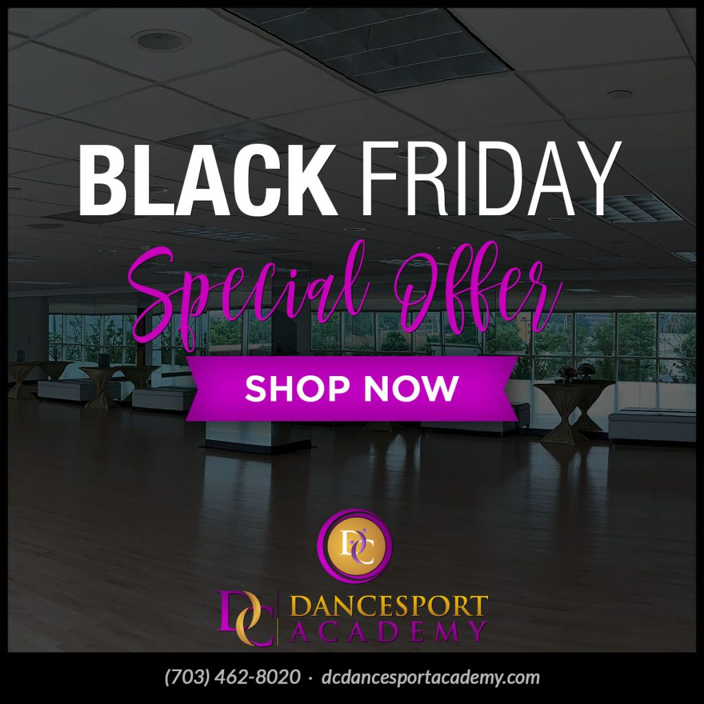 News Student Black Friday Special at DC DanceSport Academy