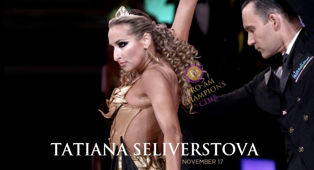 Pro-Am Champions Club: Smooth Workshop w/ Tatiana Seliverstova