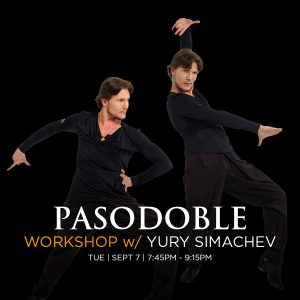 Pasodoble Dance workshop with Yury Simachev