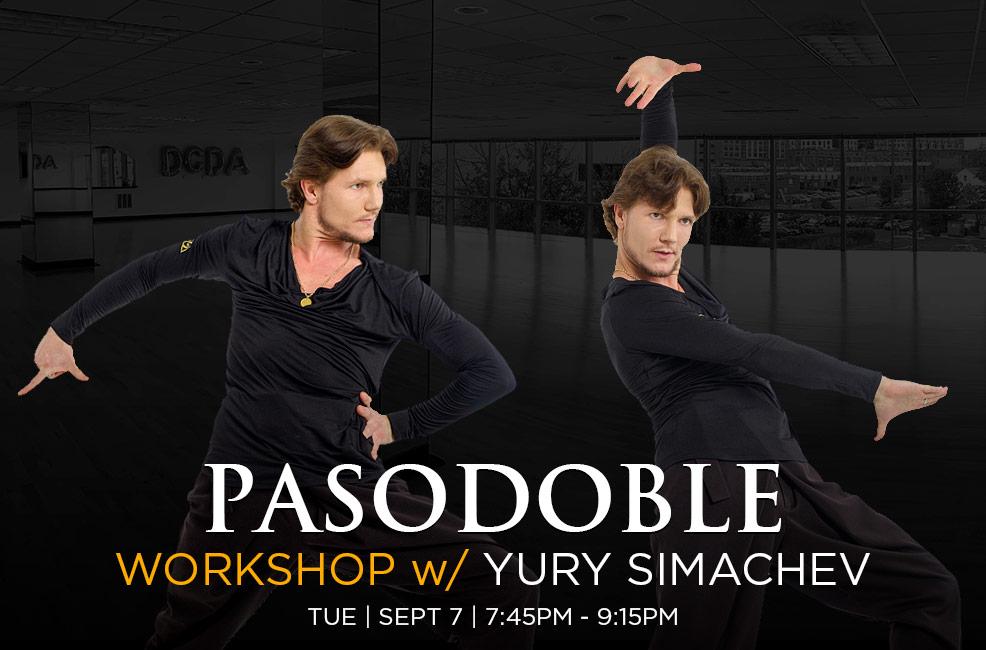 Pasodoble Workshop with Yury Simachev at DC DanceSport Academy
